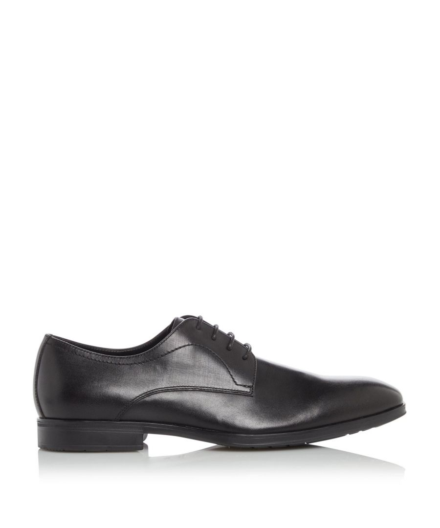 Image for Dune Mens SQUEEZE Smart Saffiano Gibson Shoes