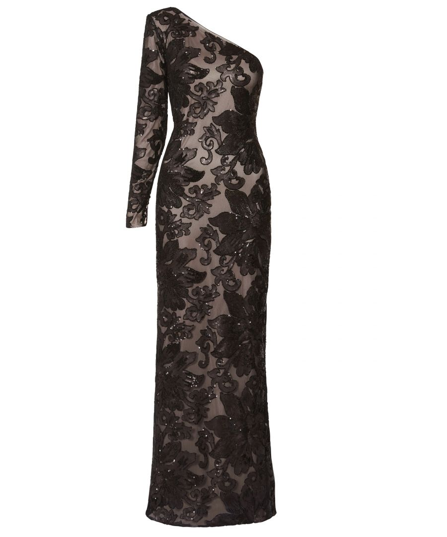 Image for Contessa Sequin One Shoulder Maxi Dress