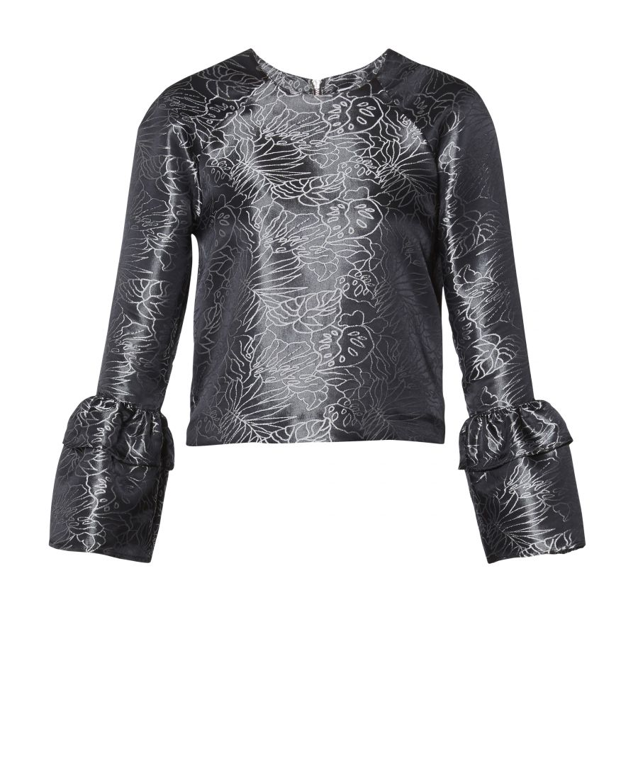 Image for Orla Top With Cuff Detail