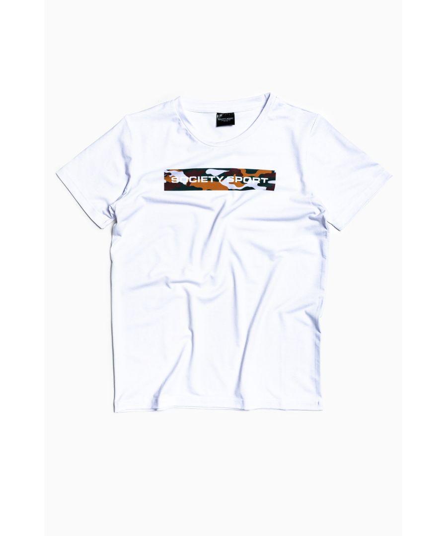 Image for Society Sport Camo Box T-Shirt