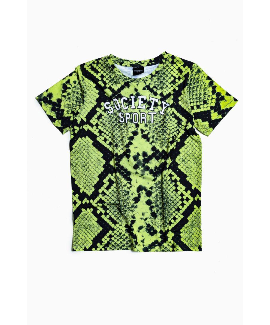 Image for Society Sport Snake T-Shirt