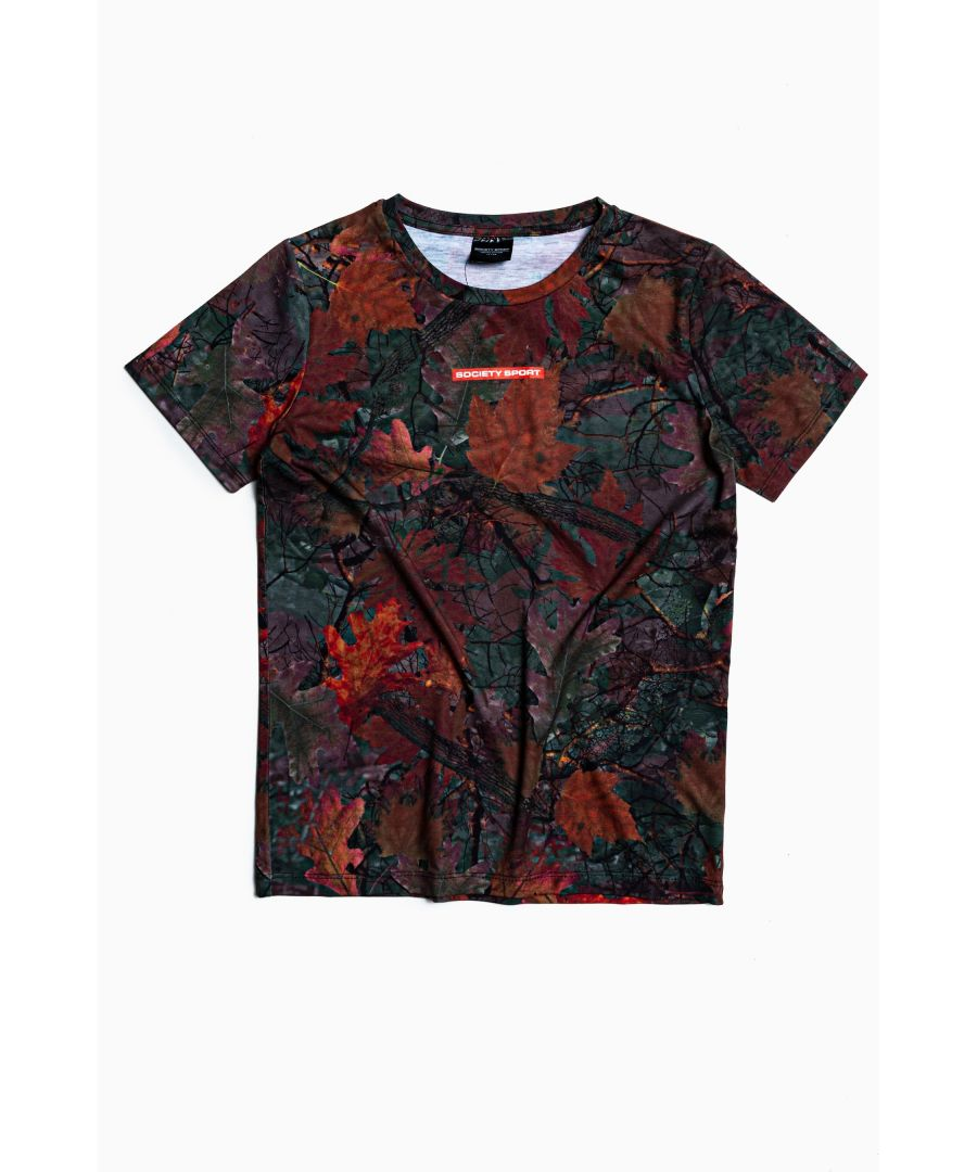 Image for Society Sport Winter Leaf T-Shirt