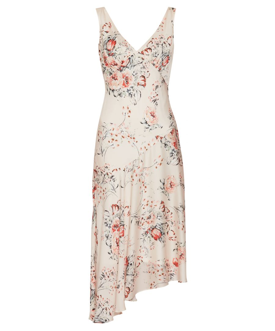 Image for Dolores Printed Satin Dress