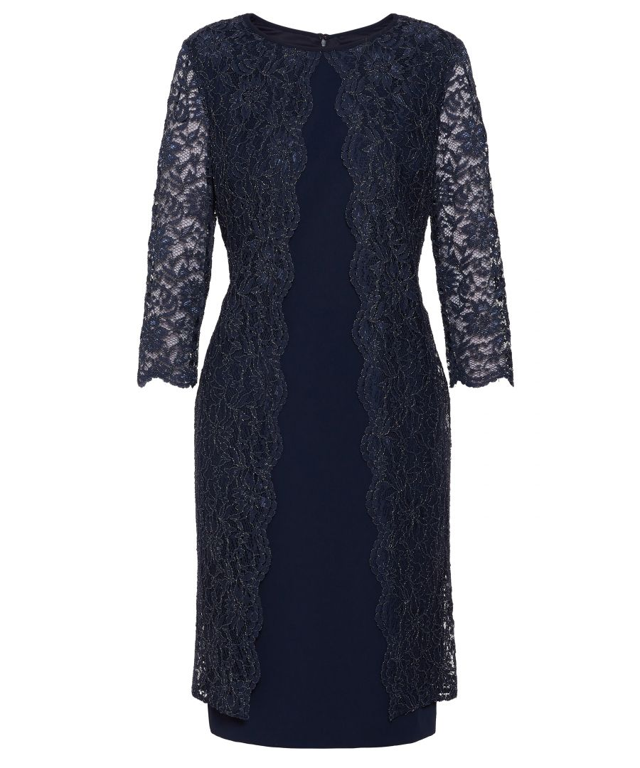 Image for Dailyn Crepe And Lace Dress