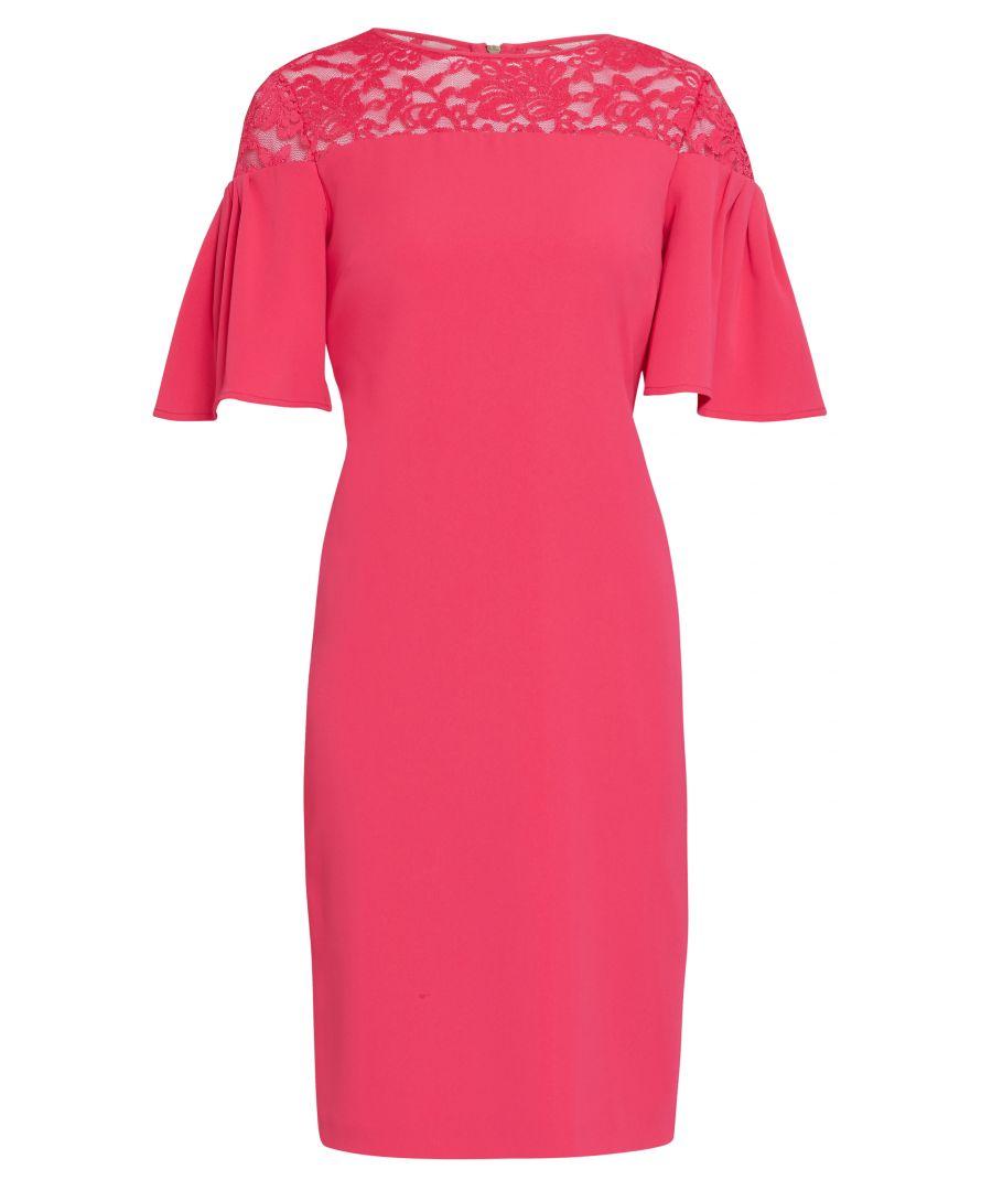 Image for Boriana Moss Crepe Dress