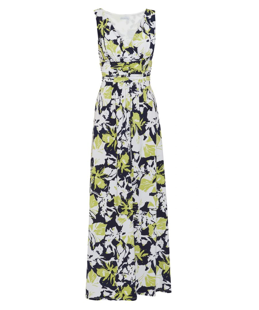 Image for Thia Floral Jersey Maxi Dress