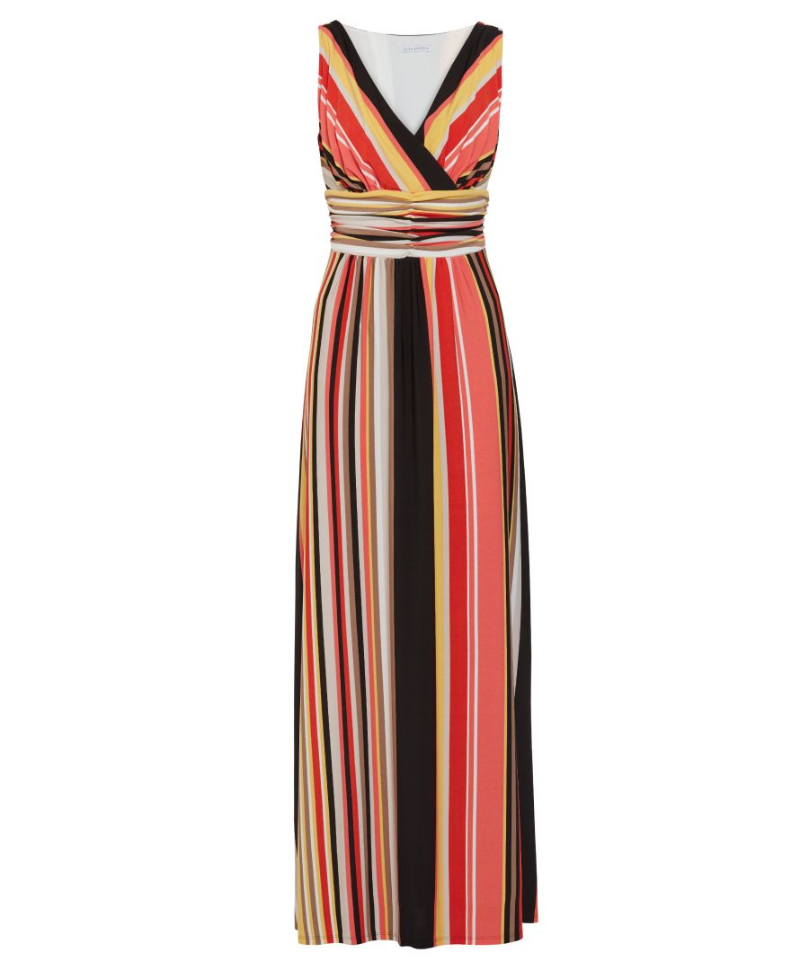 Image for Ramella Striped Maxi Dress