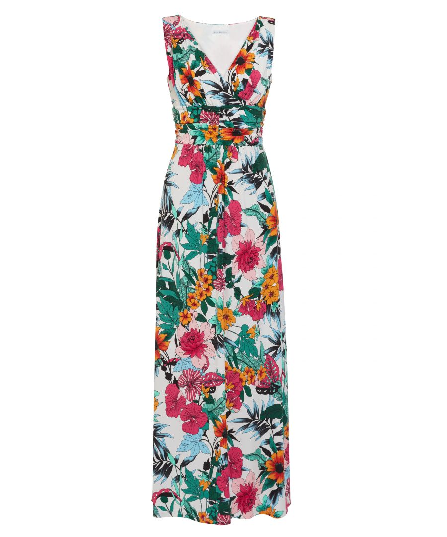 Image for Kianne Floral Jersey Maxi Dress