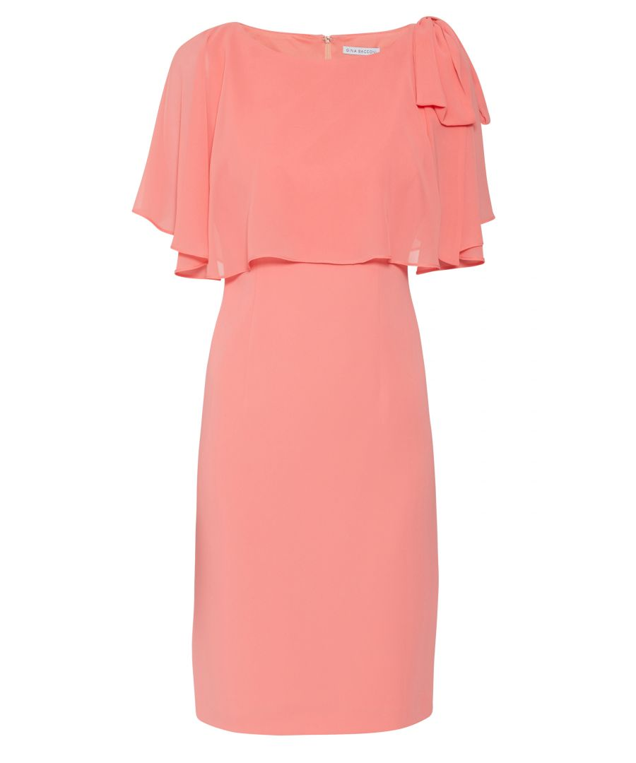 Image for Krissy Crepe And Chiffon Dress