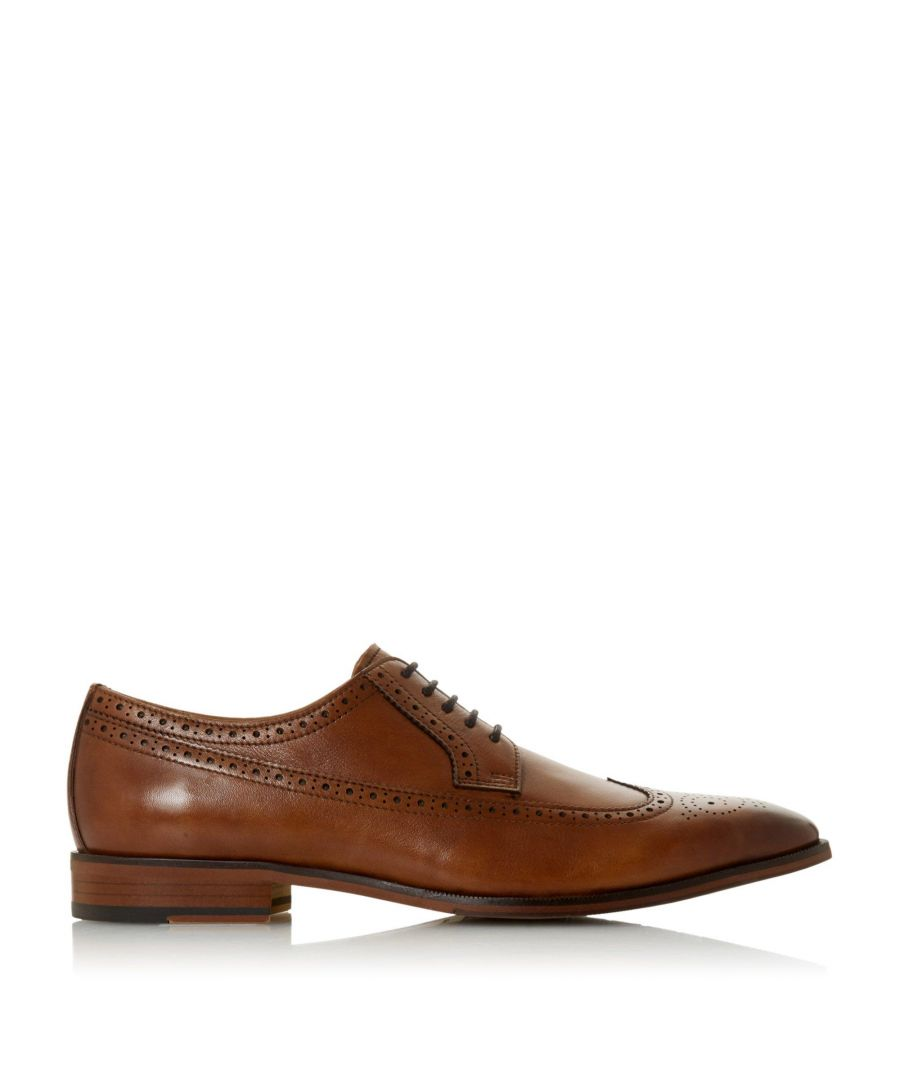 Image for Bertie Mens STARLINGS Contrast Sole Lace Up Brogue
