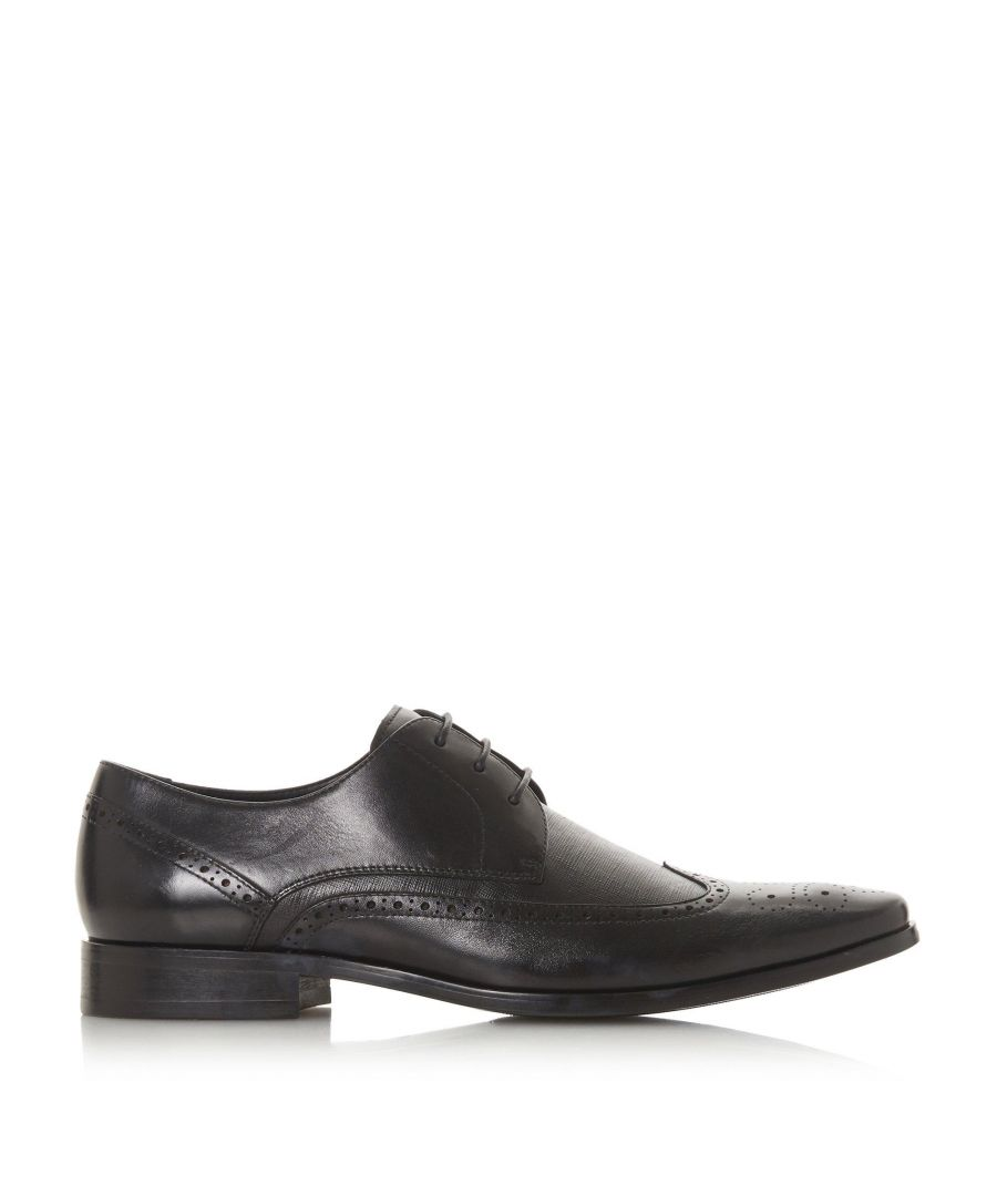 Image for Dune Mens STEADY Textured Panel Brogue