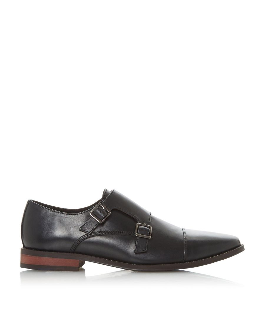 Image for Dune Mens STEW Toecap Double Monk Shoes