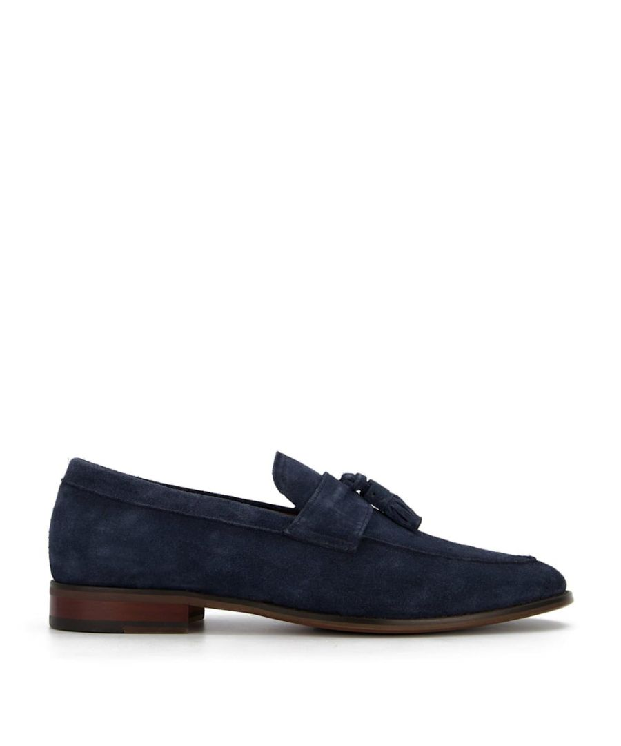 Image for Dune Mens STORMYS Washed Suede Loafers