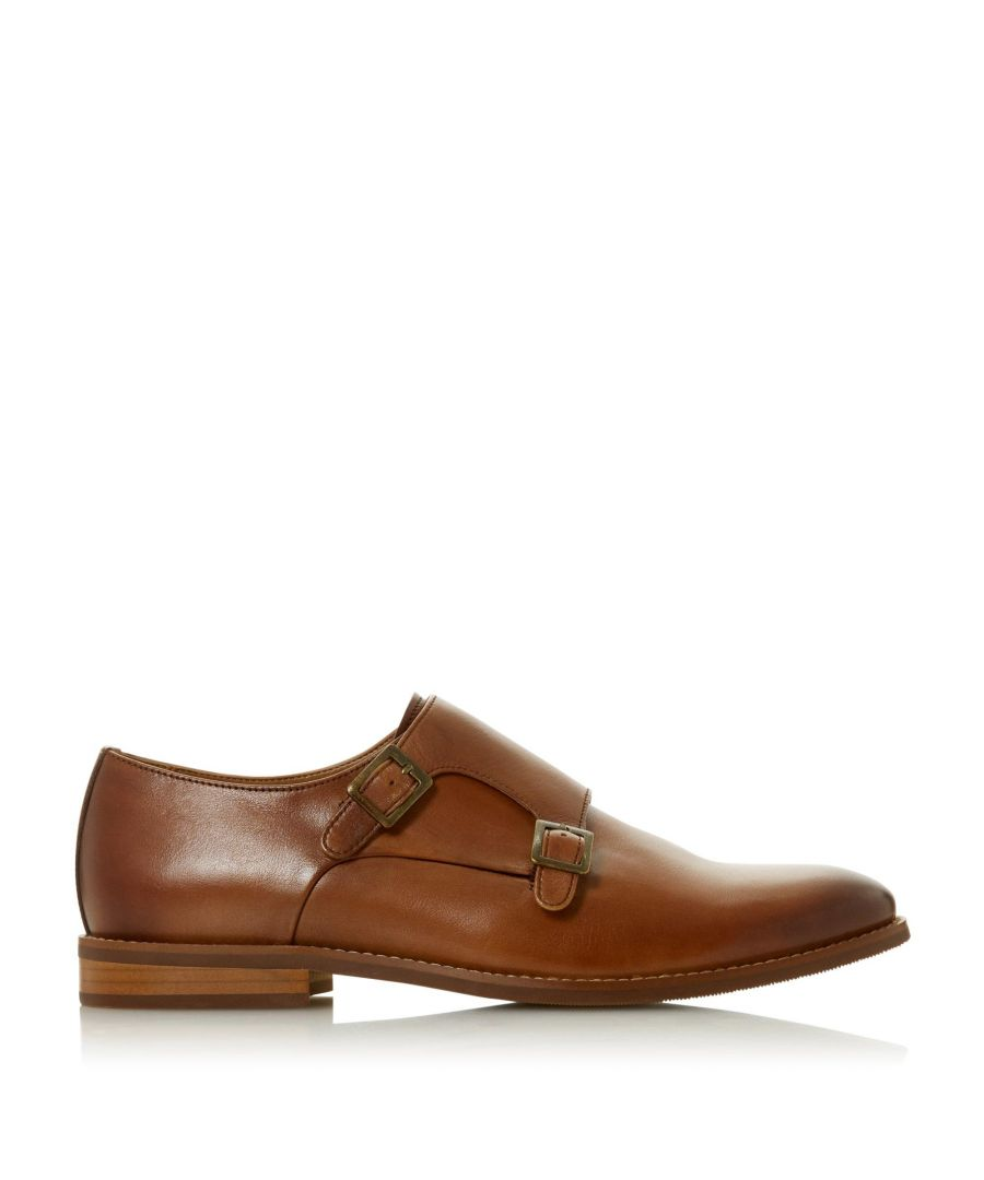 Image for Dune Mens STOWMARKET Double Buckle Monk Shoes