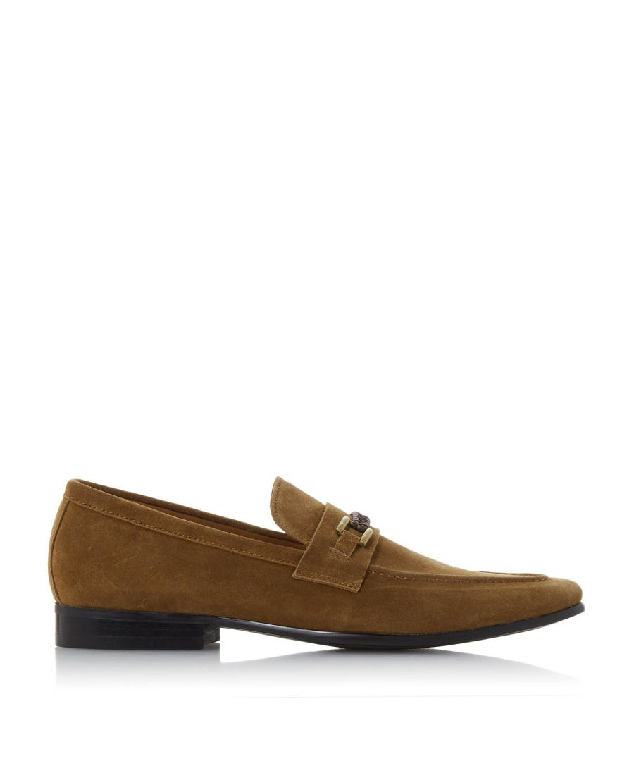 Image for Dune Mens STREAM Woven Trim Saddle Loafer