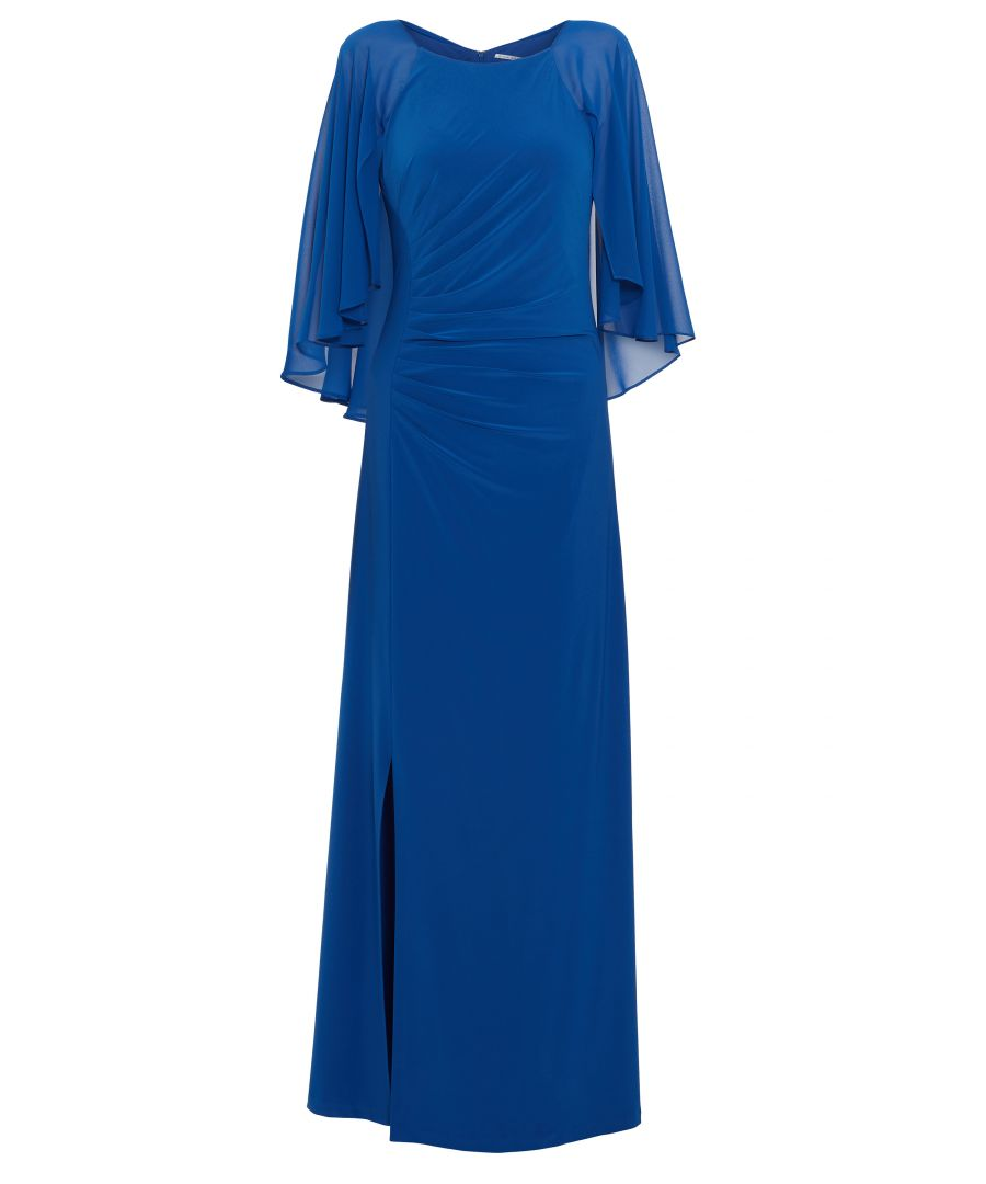 Image for Charlotte Cape Maxi Dress