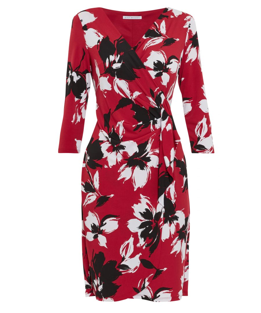 Image for Blithe Floral Wrap Dress