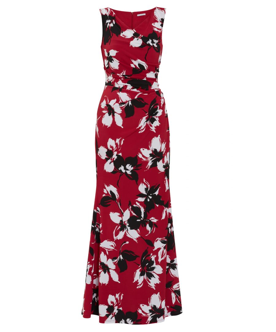 Image for Emaline Floral  Maxi Dress