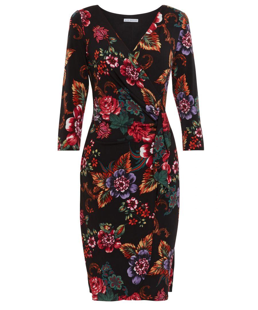 Image for Cloris Floral Wrap Dress