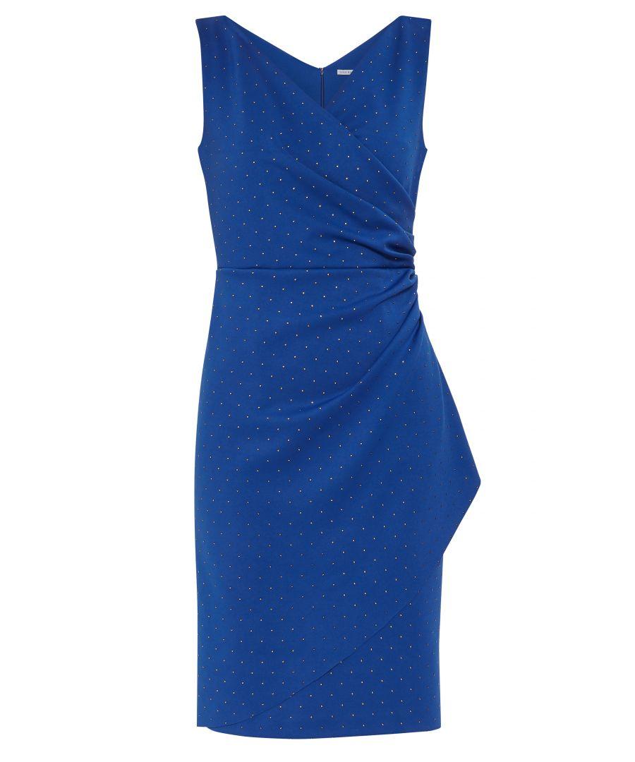 Image for Tessie Stud  Wrap Dress
