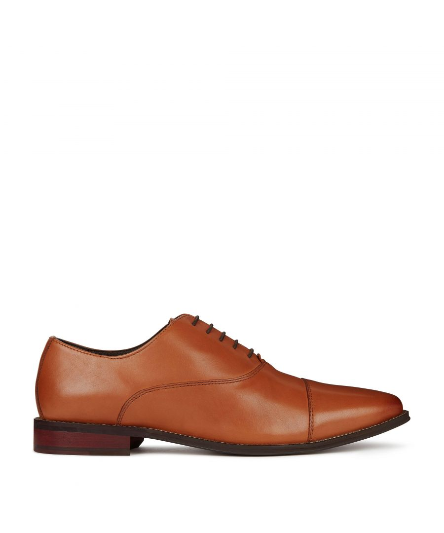 Image for Dune Mens STUART Leather Oxford Shoes