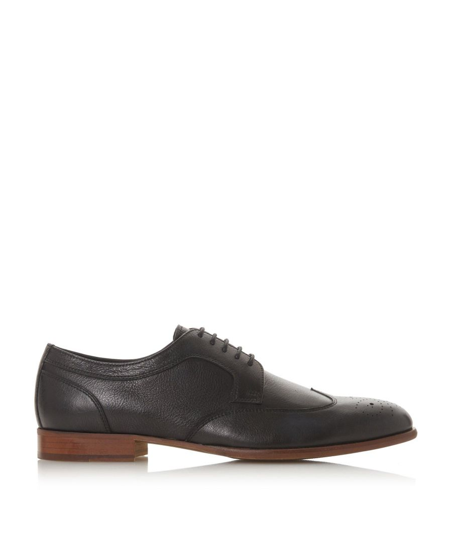 Image for Dune Mens SUDBURYS Punched Wingtip Lace Up Shoes