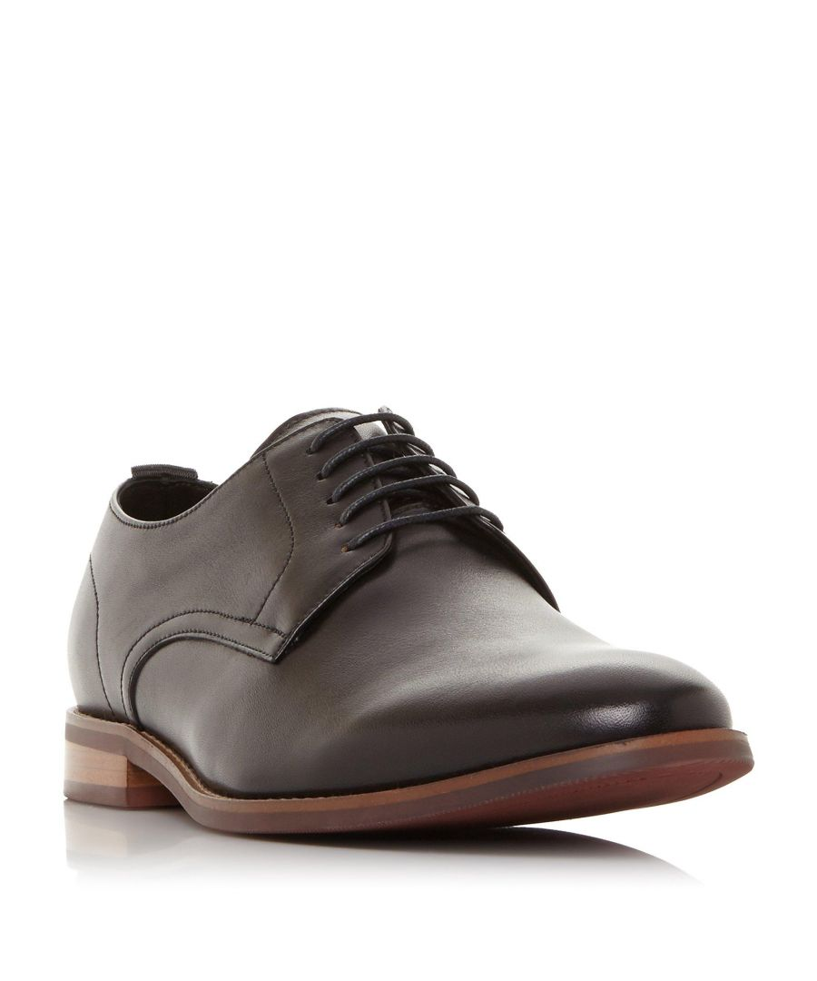 Image for Dune Mens SUFFOLKS Leather Gibson Shoe