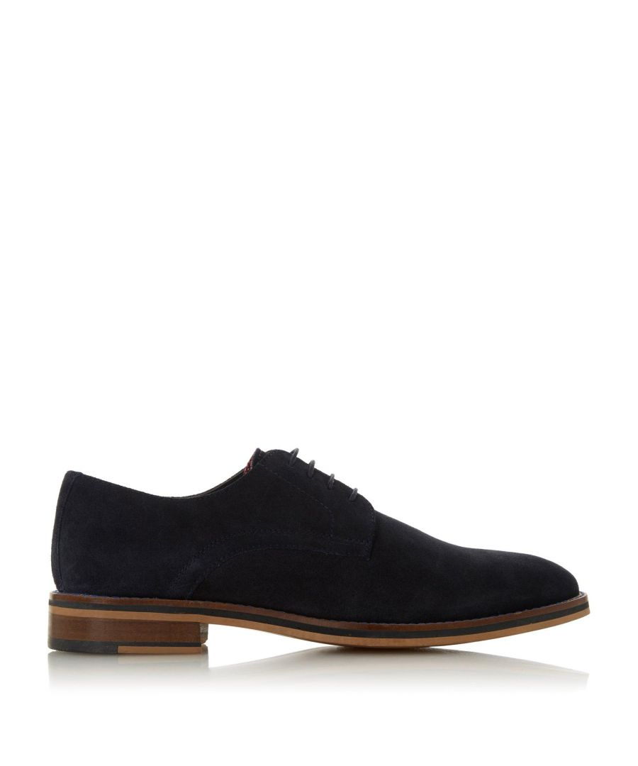 Image for Dune Mens Suits H Suede Lace Up Shoes