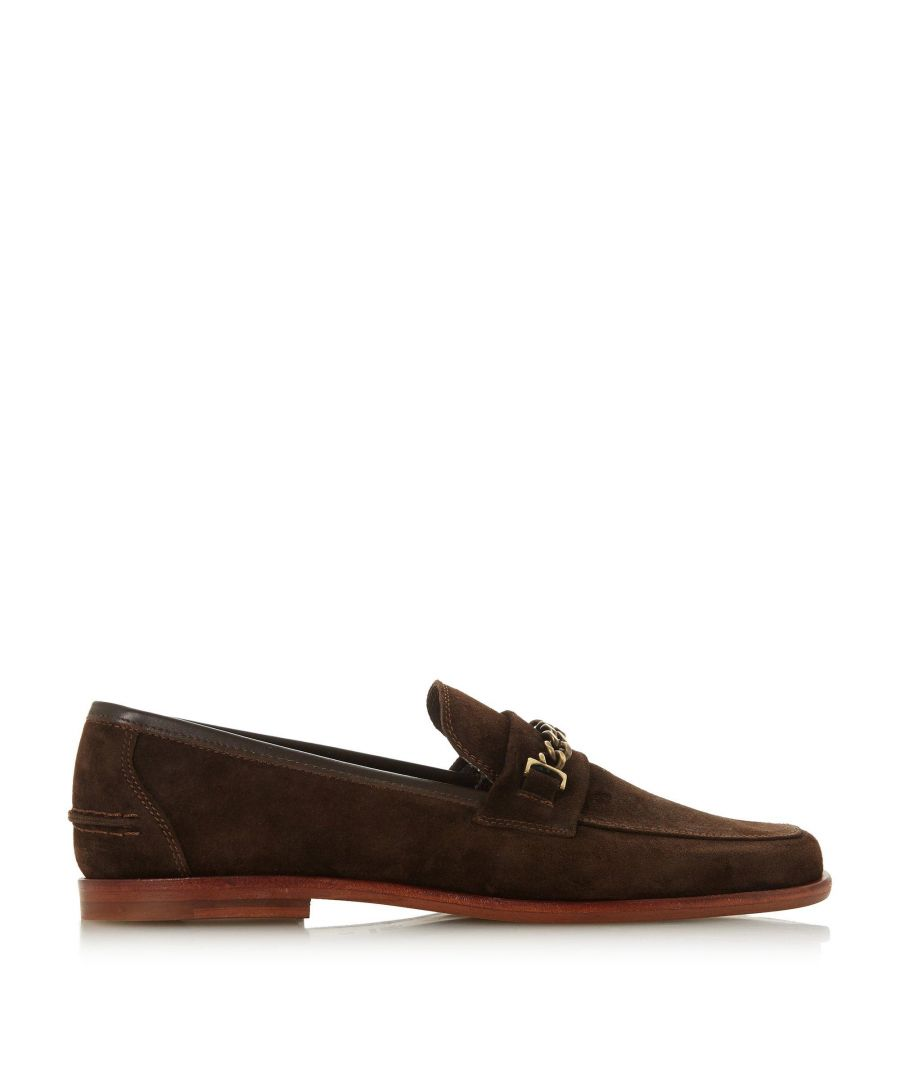 Image for Bertie Mens SURBITON Suede Square Toe Loafer