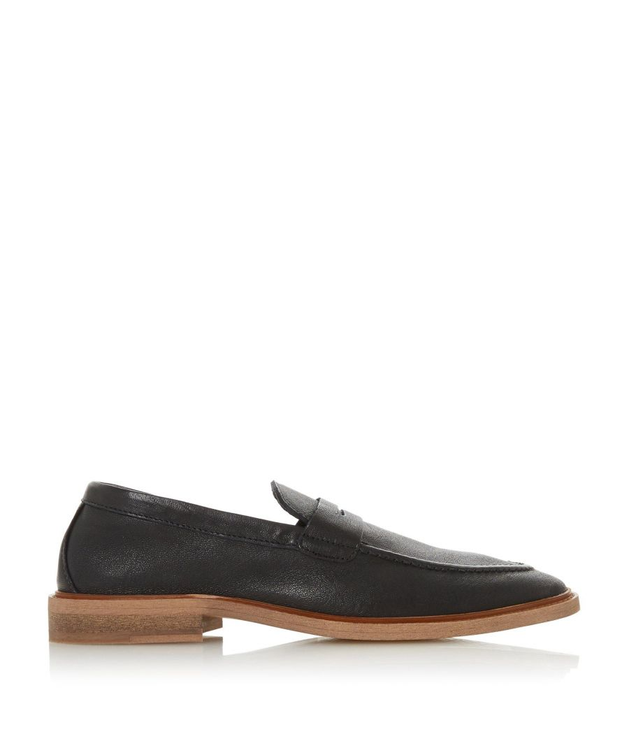 Image for Bertie Mens SVELTE Saddle Trim penny Loafer