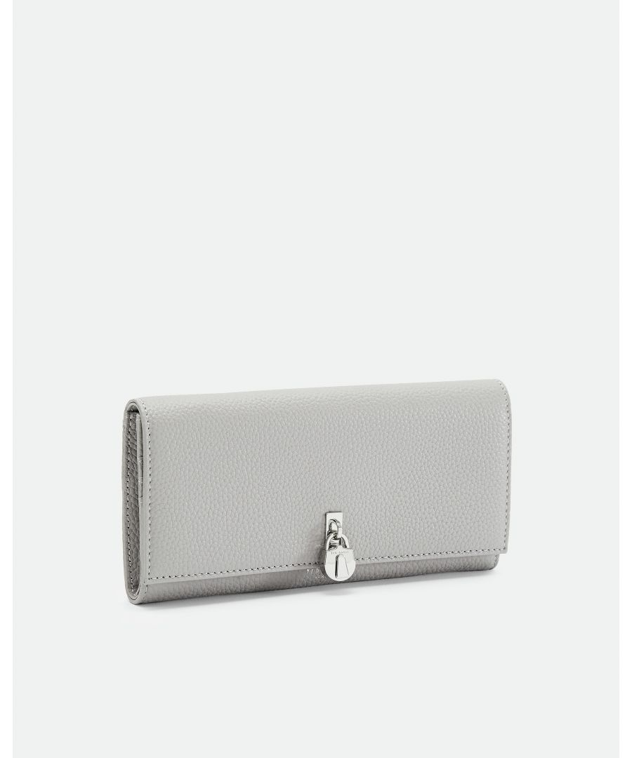 Image for Ted Baker Sylivi Padlock Clasp Matinee Purse, Grey