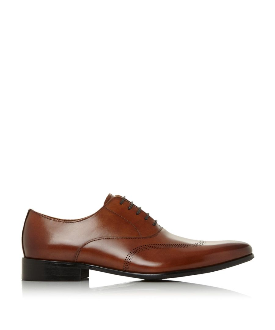 Image for Dune Mens SYN Punched Wingtip Smart Oxford Shoes