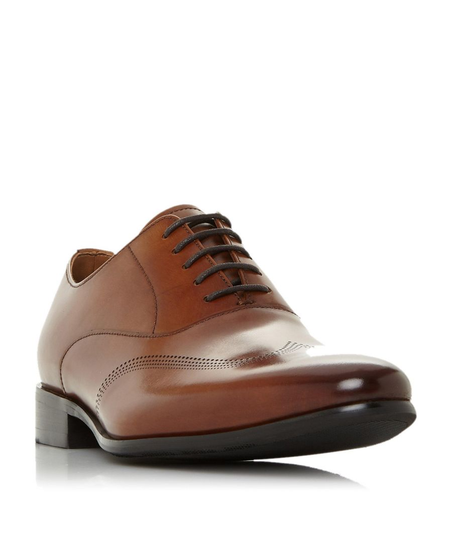 Image for Dune Mens SYN Punched Wingtip Oxford Shoe