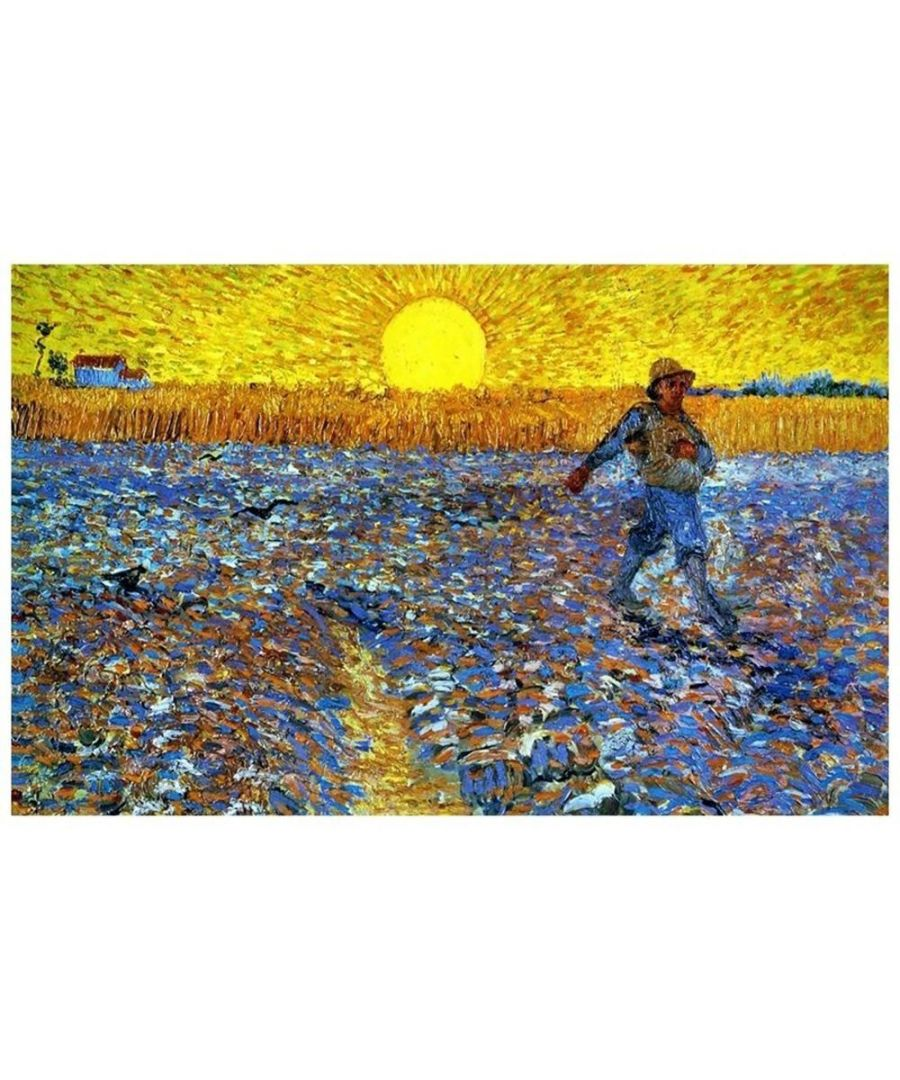 Image for Canvas Print - Sower With Setting Sun - Vincent Van Gogh Cm. 50x80