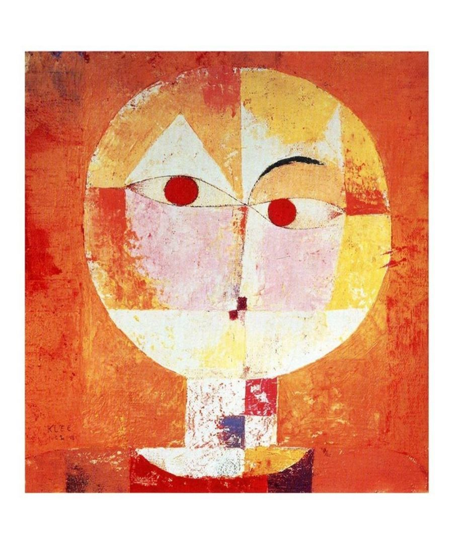 Image for Canvas Print - Senecio - Paul Klee Cm. 80x90