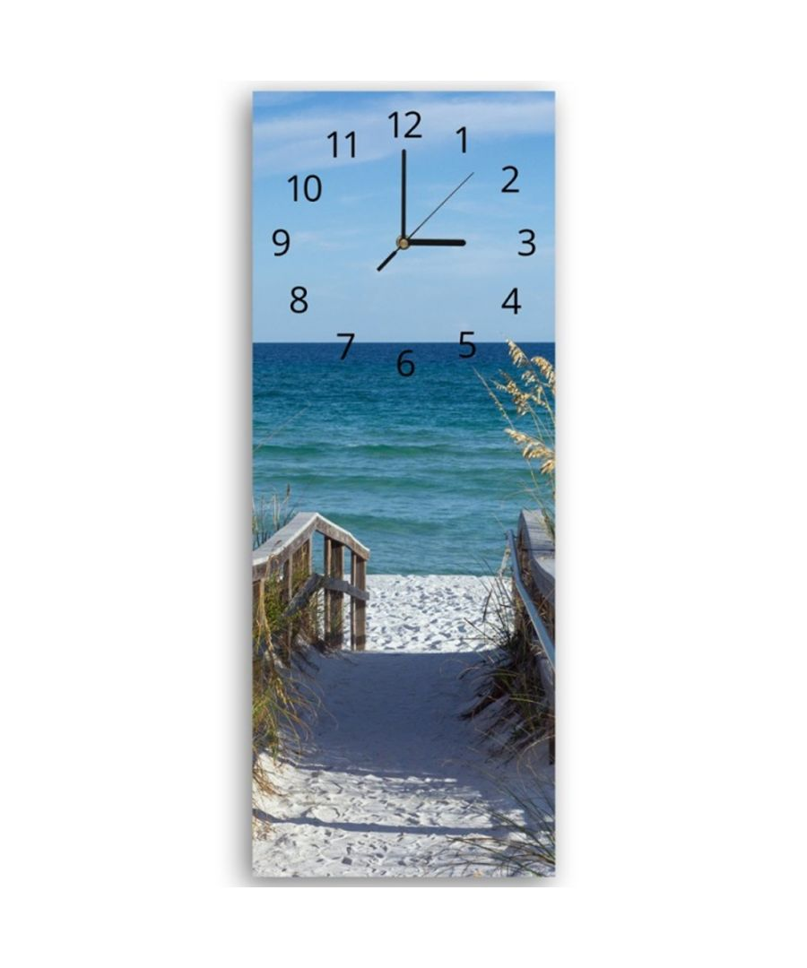 Image for Wall Clock - Path To The Blue Sea Cm. 30x90