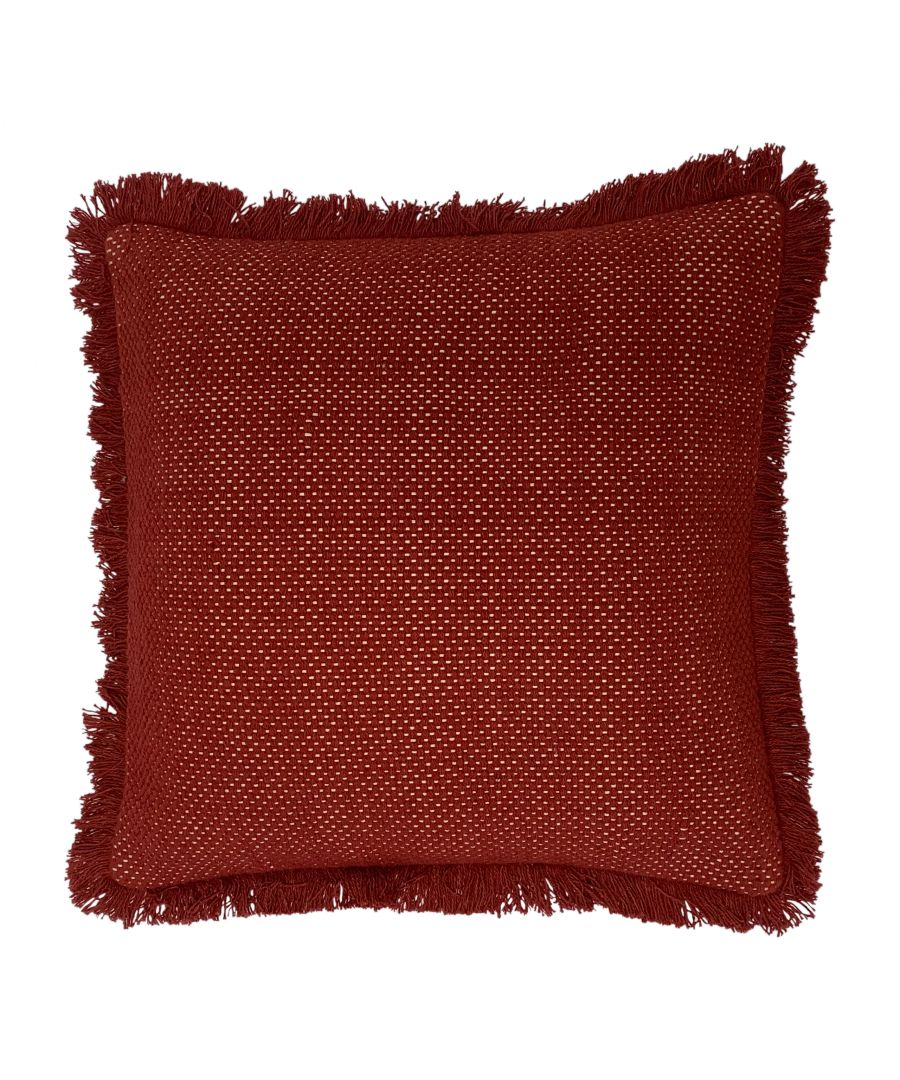 Image for Sienna 45X45 Poly Cushion Brick