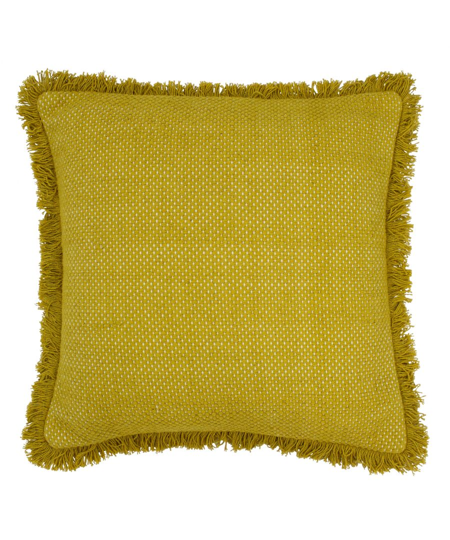 Image for Sienna 45X45 Poly Cushion Ochre