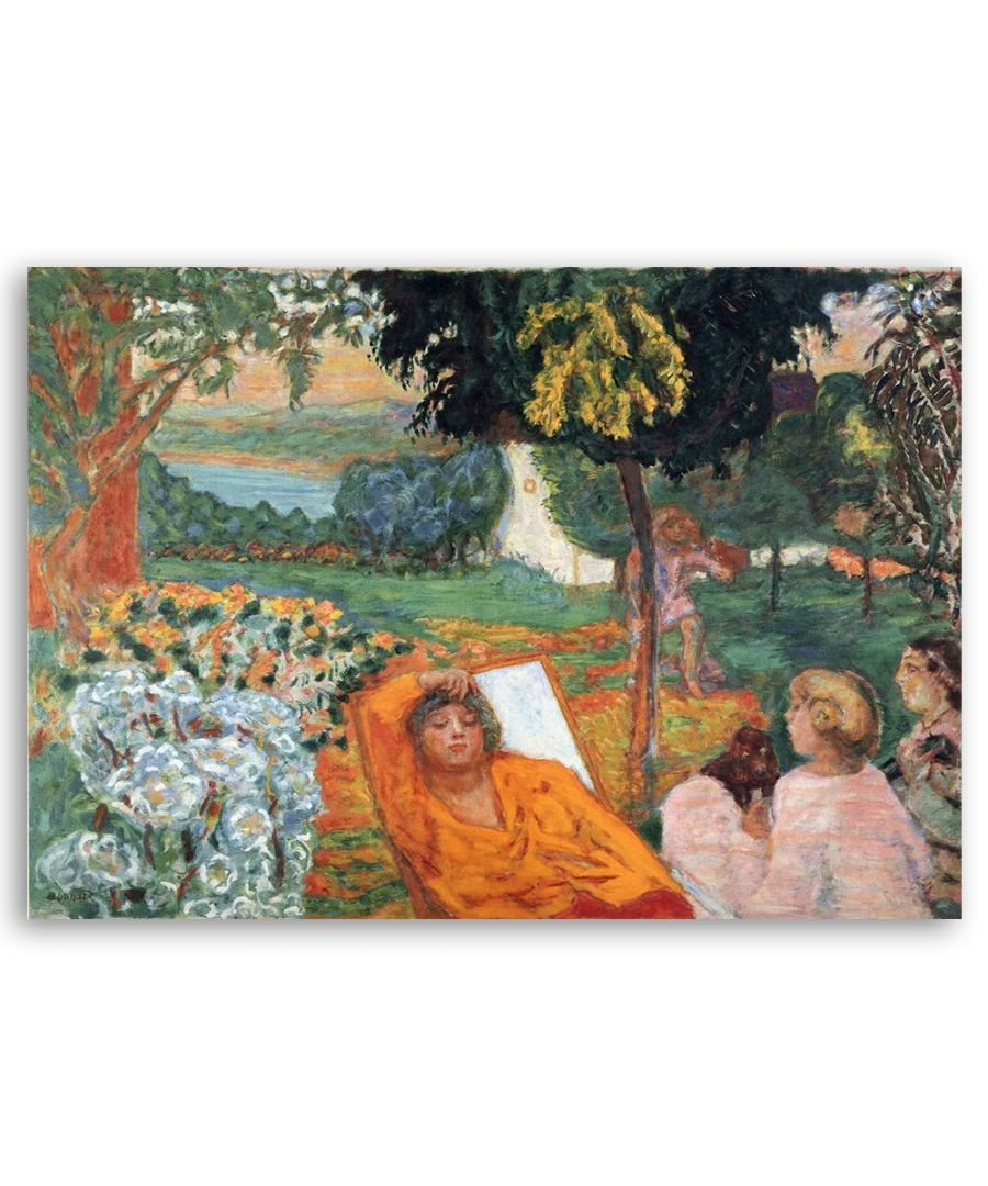 Image for Canvas Print - Siesta - Pierre Bonnard Cm. 60x80