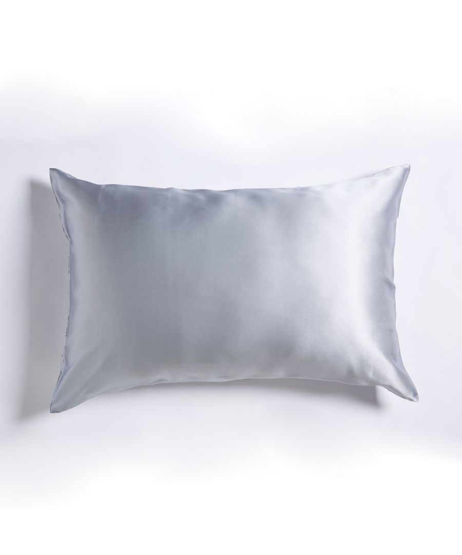 Image for Mulberry Silk Pillowcase Grey