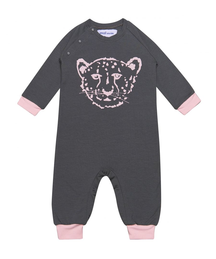 Image for Cheetah Pink Romper