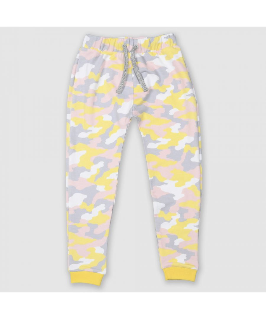Image for Pink Camo Joggers