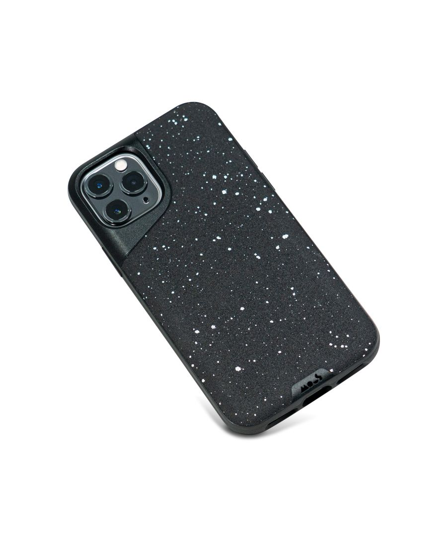 Image for Mous - Protective Case for iPhone 11 Pro Max - Contour - Speckled Black Leather - No Screen Protector