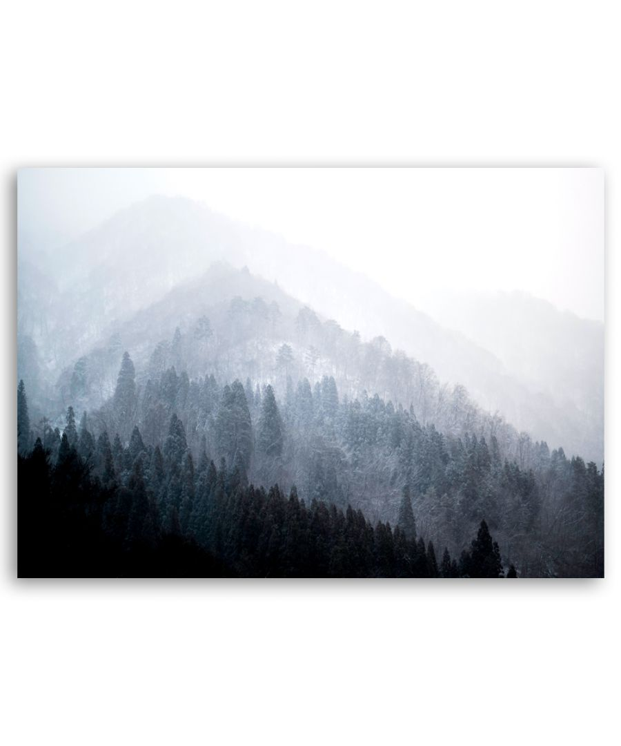 Image for Canvas Print - Trees In The Mist - Wall Art Decor