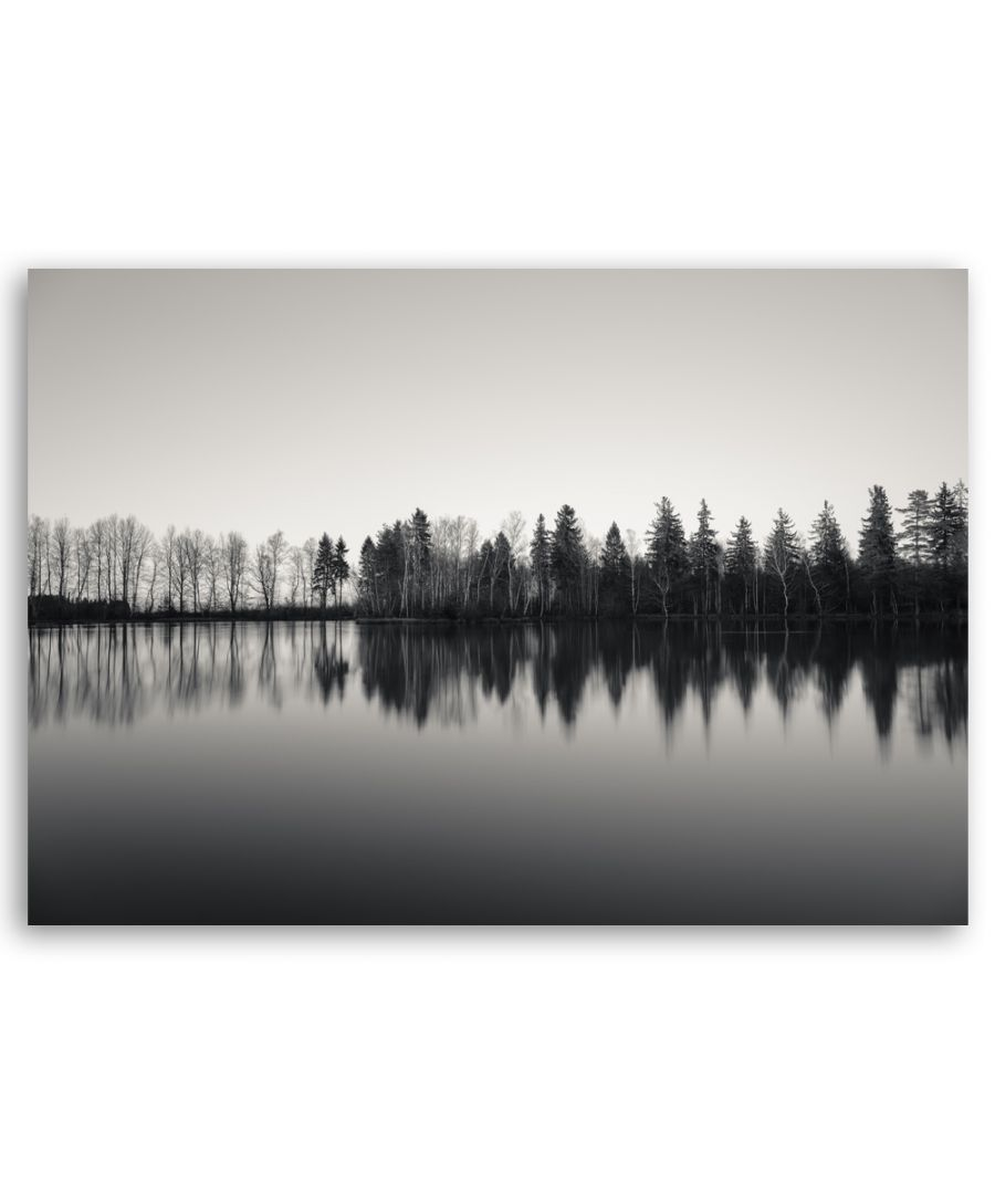 Image for Canvas Print - Trees Reflected On The Water - Wall Art Decor