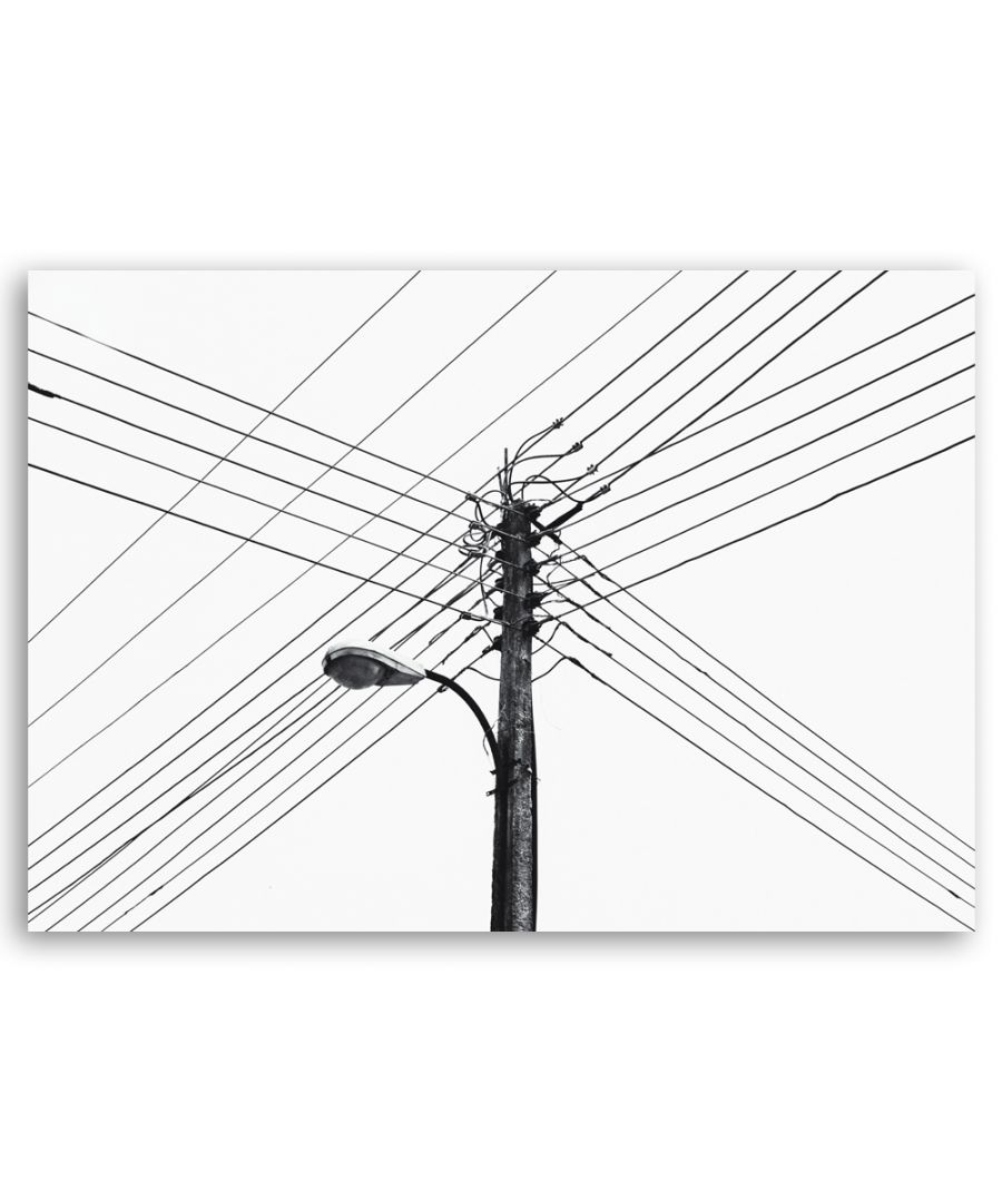 Image for Canvas Print - Wires - Wall Art Decor