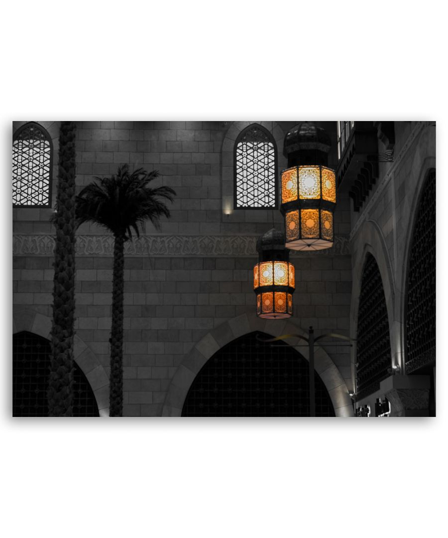 Image for Canvas Print - Lights In Dubai - Wall Art Decor