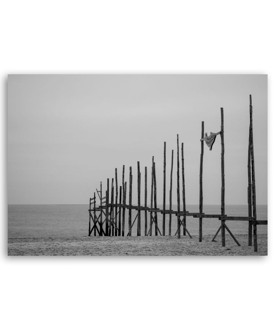 Image for Canvas Print - Poles In The Sand - Wall Art Decor