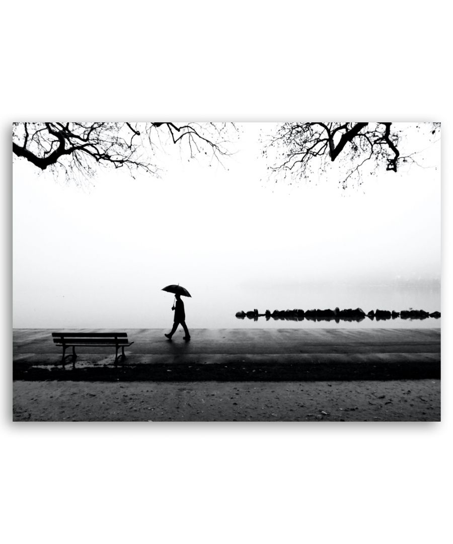 Image for Canvas Print - Solitary Walk Among The Waters - Wall Art Decor