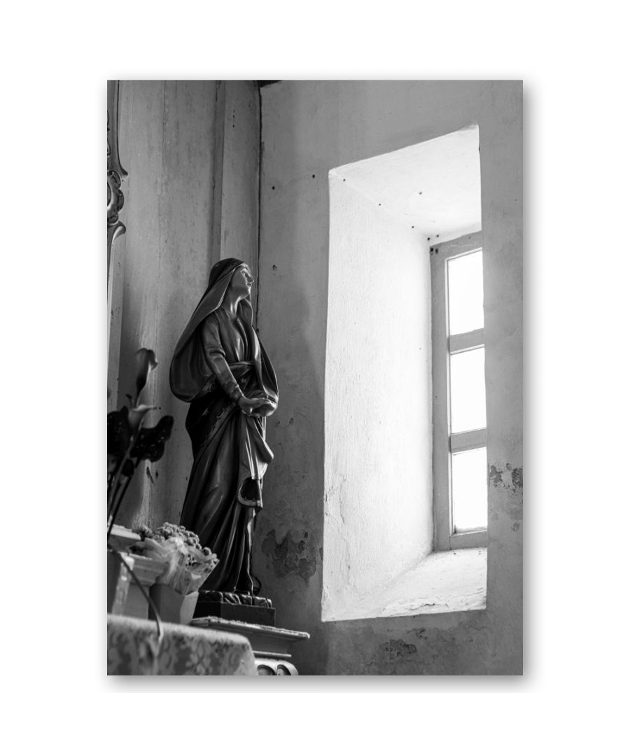 Image for Canvas Print - Sacred Glances From The Window - Wall Art Decor